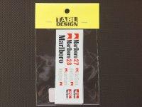 TABU DESIGN【TABU-20010】1/20 FERRARI 412T1 1994 マルチメディアキット対応オプションデカール