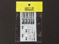 TABU DESIGN【TABU-20018】1/20 FERRARI F300 マルチメディアキット対応オプションデカール