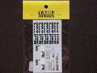 TABU DESIGN【TABU-20025】1/20 FERRARI F399 マルチメディアキット対応オプションデカール