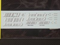 TABU DESIGN【TABU-20026】1/20 FERRARI F2007用 マルチメディアキット対応オプションデカール