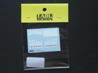 TABU DESIGN【TABU-20050】1/20 FERRARI F60用オプション(スタジオ対応)