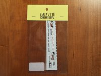 "TABU DESIGN【TABU-24004】1/24 NSR500用""West""2002デカール(ixo社対応)"