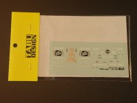 "TABU DESIGN【TABU-43003】BAR 006 ""WINTER TEST 2005"""