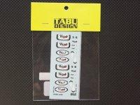 """TABU DESIGN【TABU-43007】1/43 MP4/19(HOTWHEELS対応)""""WEST"""""""