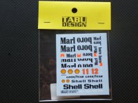 TABU DESIGN【TABU-20001D】1/20 マクラ—レン MP4/4 オプションデカール