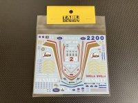 TABU DESIGN【20069】1/20 FW16 フルスポンサーデカール(F社対応)