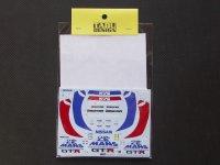TABU DESIGN【TABU-24022】1/24 GT-R LM CLUB LeMans 1995 Decal
