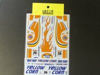 "TABU DESIGN【24056】1/24 Mclaren F1-GTR""YellowCorn""#76 JGTC 2002 Decal(F社対応)"
