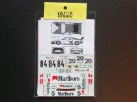 TABU DESIGN【24064】1/24 BMW M1 #5#20#84 1979-1980 Decal(Revell/ESCI社対応)