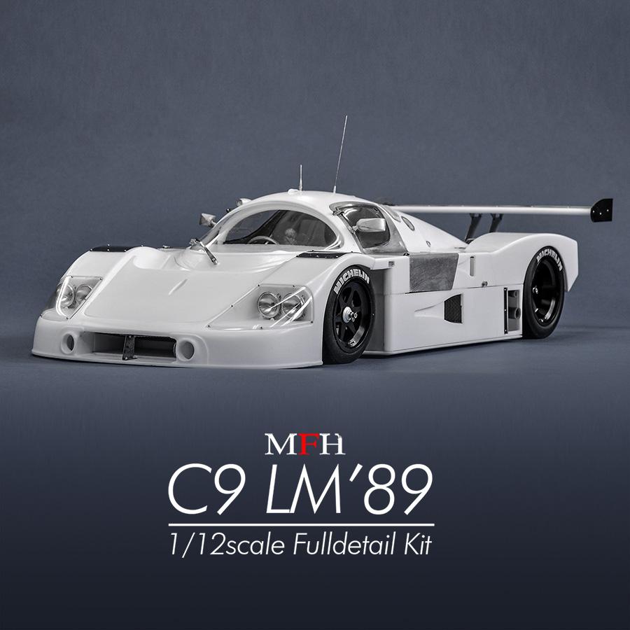 Model Factory Hiro 【K-733】1/12 C9 LM'89 Fulldetail Kit                                    [K-733]